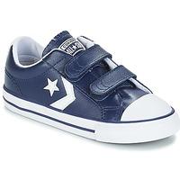 鞋子 儿童 球鞋基本款 Converse 匡威 STAR PLAYER EV V OX 海军蓝 / 白色