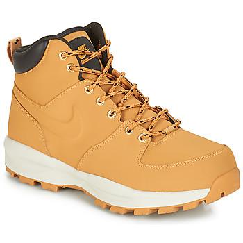 鞋子 男士 短筒靴 Nike 耐克 MANOA LEATHER BOOT Miel