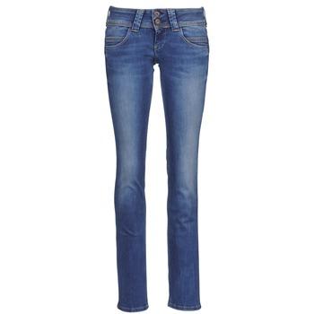 衣服 女士 直筒牛仔裤 Pepe jeans VENUS 蓝色 / Edium