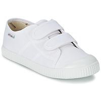 鞋子 儿童 球鞋基本款 Victoria 维多利亚 BLUCHER LONA DOS VELCROS 白色