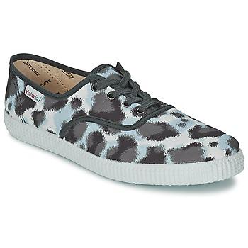鞋子 女士 球鞋基本款 Victoria 维多利亚 INGLESA ESTAMP HUELLA TIGRE 灰色
