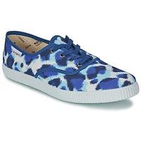 鞋子 女士 球鞋基本款 Victoria 维多利亚 INGLESA ESTAMP HUELLA TIGRE 蓝色