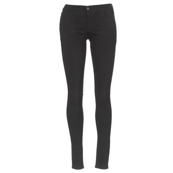 衣服 女士 牛仔铅笔裤 Levi's 李维斯 INNOVATION SUPER SKINNY 黑色 / Galaxy