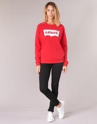 衣服 女士 牛仔铅笔裤 Levi's 李维斯 711 SKINNY 黑色 / Sheep
