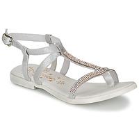 鞋子 女孩 凉鞋 Acebo's MADALEN 银色