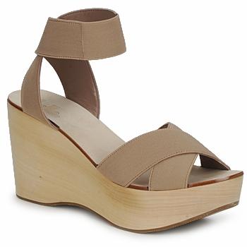 鞋子 女士 凉鞋 Belle by Sigerson Morrison ELASTIC 裸色