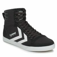 鞋子 高帮鞋 Hummel TEN STAR HIGH CANVAS 黑色 / 白色