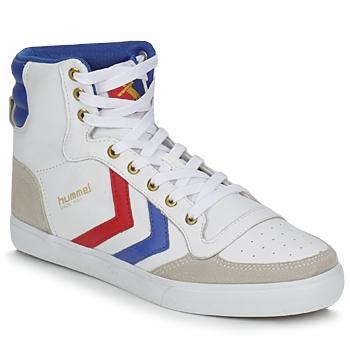鞋子 高帮鞋 Hummel STADIL HIGH 白色 / 蓝色 / 红色