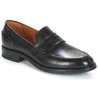 鞋子 男士 皮便鞋 Carlington 卡尔顿 JALECK 黑色