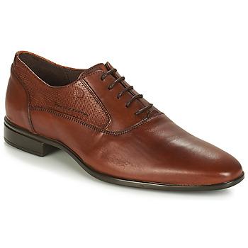 鞋子 男士 系带短筒靴 Carlington 卡尔顿 JIPINO 棕色