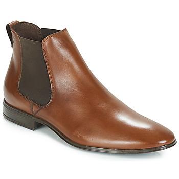 鞋子 男士 短筒靴 Carlington 卡尔顿 JEVITA 棕色