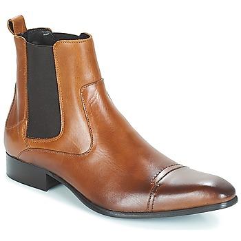 鞋子 男士 短筒靴 Carlington 卡尔顿 ERINZI 棕色