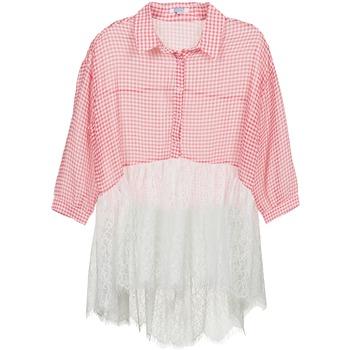 衣服 女士 衬衣/长袖衬衫 Brigitte Bardot AMBRE 红色 / 白色