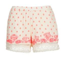 衣服 女士 短裤&百慕大短裤 Brigitte Bardot ANGELINE 浅米色