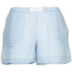 衣服 女士 短裤&百慕大短裤 Brigitte Bardot ANGELIQUE 蓝色 / 白色