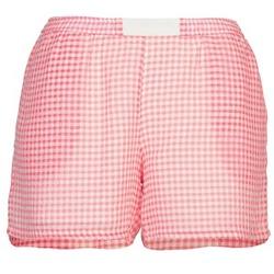 衣服 女士 短裤&百慕大短裤 Brigitte Bardot ANNE 红色 / 白色
