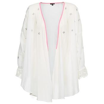 衣服 女士 羊毛开衫 Brigitte Bardot APOLLINE 白色