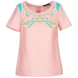 衣服 女士 女士上衣/罩衫 Color Block ADRIANA 玫瑰色