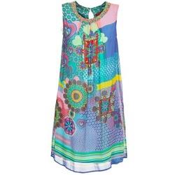 衣服 女士 短裙 Derhy BARDE 蓝色 / 绿色 / 多彩
