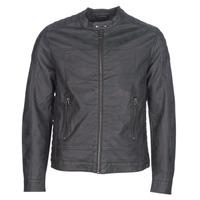 衣服 男士 皮夹克/ 人造皮革夹克 Esprit 埃斯普利 VENI 黑色
