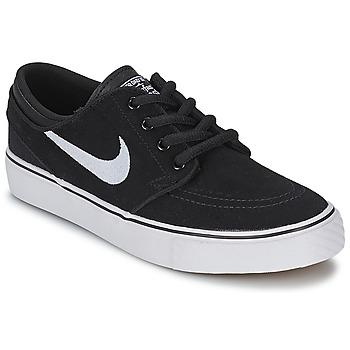 鞋子 男孩 球鞋基本款 Nike 耐克 STEFAN JANOSKI ENFANT 黑色