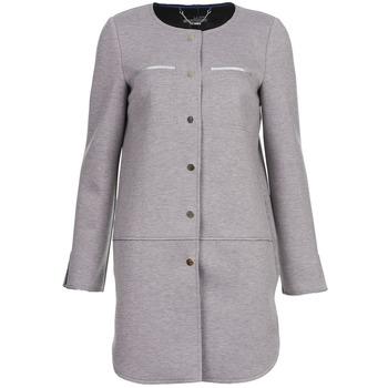 衣服 女士 大衣 La city FLORA 灰色