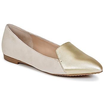 鞋子 女士 皮便鞋 French Connection GALINA 金色 / 玫瑰色