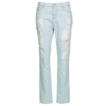 衣服 女士 直筒牛仔裤 Cimarron BOY 蓝色 / 米色