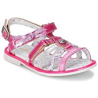 鞋子 女孩 凉鞋 Catimini CHOUETTE 紫红色