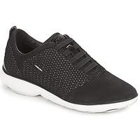 鞋子 女士 球鞋基本款 Geox 健乐士 D NEBULA 黑色