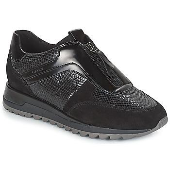 鞋子 女士 球鞋基本款 Geox 健乐士 D TABELYA 黑色