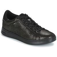 鞋子 女士 球鞋基本款 Geox 健乐士 D JAYSEN 灰色 / 黑色