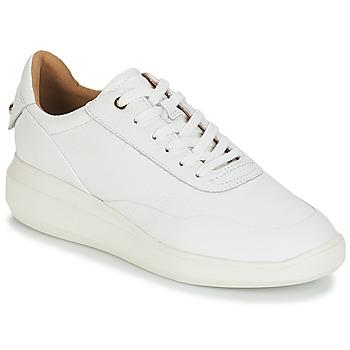 鞋子 女士 球鞋基本款 Geox 健樂士 D RUBIDIA 白色