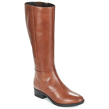 鞋子 女士 都市靴 Geox 健乐士 D FELICITY 棕色