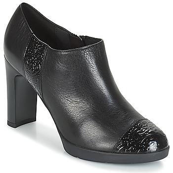 鞋子 女士 短靴 Geox 健乐士 D ANNYA HIGH 黑色