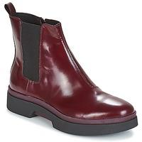 鞋子 女士 短筒靴 Geox 健乐士 D MYLUSE 波尔多红