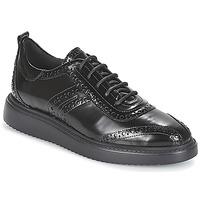 鞋子 女士 德比 Geox 健乐士 D THYMAR 黑色