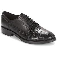 鞋子 女士 德比 Geox 健乐士 DONNA BROGUE 黑色