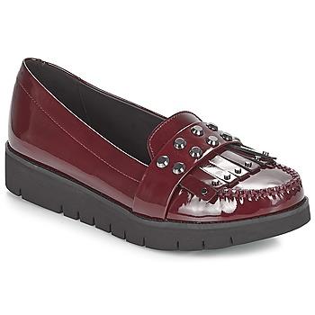 鞋子 女士 皮便鞋 Geox 健乐士 D BLENDA 波尔多红