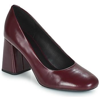 鞋子 女士 高跟鞋 Geox 健乐士 D SEYLISE HIGH 波尔多红