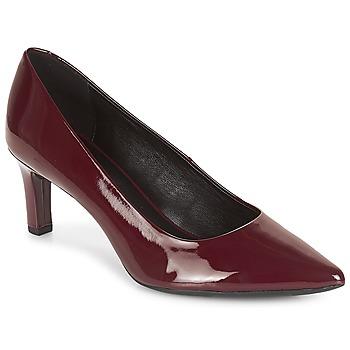鞋子 女士 高跟鞋 Geox 健乐士 D BIBBIANA 波尔多红