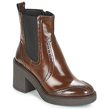 鞋子 女士 短靴 Geox 健乐士 D ADRYA MID 棕色