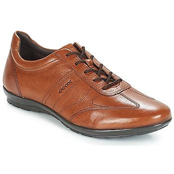 鞋子 男士 德比 Geox 健乐士 UOMO SYMBOL 棕色