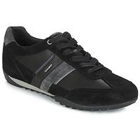 鞋子 男士 球鞋基本款 Geox 健樂士 U WELLS 黑色 / 海藍色