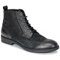鞋子 男士 短筒靴 Geox 健乐士 U JAYLON 黑色