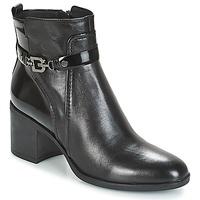 鞋子 女士 短靴 Geox 健乐士 D GLYNNA 黑色