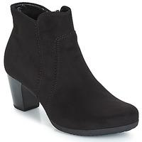 鞋子 女士 短靴 Gabor 嘉宝 KENAT 黑色