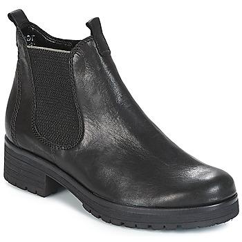 鞋子 女士 短筒靴 Gabor 嘉宝 TREASS 黑色