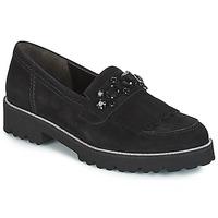 鞋子 女士 皮便鞋 Gabor 嘉宝 TINGER 黑色
