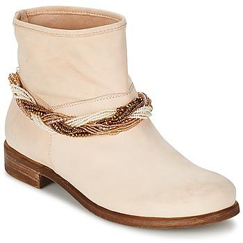鞋子 女士 短筒靴 Tosca Blu TETHYS 米色